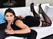 Stunningly beautiful Valentina Nappi is eager to demonstrate that Italian babes are just as hot ...
