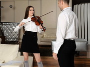 Leyla is a shy artist... a violin player with a gentle soul. Still, her curiosity and lust ...