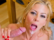 Alexis Fawx has been chatting with a guy she met on a dating app and realizes that it's ...