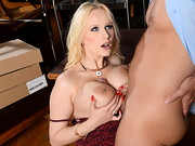 Ms. Wicky, the naughty French teacher regularly sneaks out from the teacher's lounge and ...