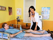 Dr. Grey is a new resident at ZZ hospital but luckily for her, Dr. Brookes is there to show ...