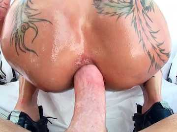 Ass to mouth cocksucking by busty Bella Beltz is a main course for today.