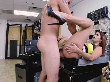 Isabella Taylor: Horny Latina fucked at the office