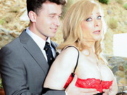 Porn Hall Of Famer Nina Hartley and stud James Deen play a stepmother and stepson, each with ...