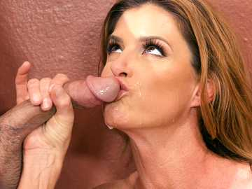 Mature ballerina India Summer finally gets her stepson's cock in her mouth